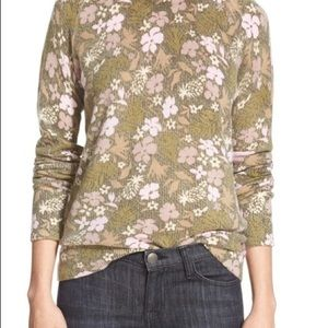 Equipment | 'Sloane' Floral Print Cashmere Sweater